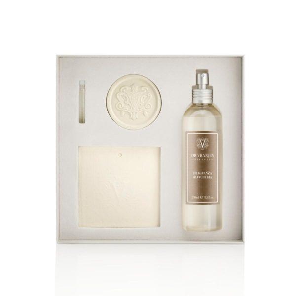 dr vranjes fragranza biancheria gift box pack