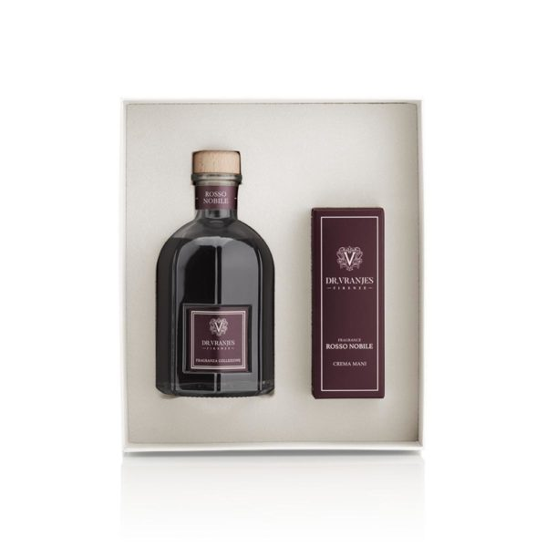 dr vranjes rosso nobile gift box 250ml crema mani frv18 h16
