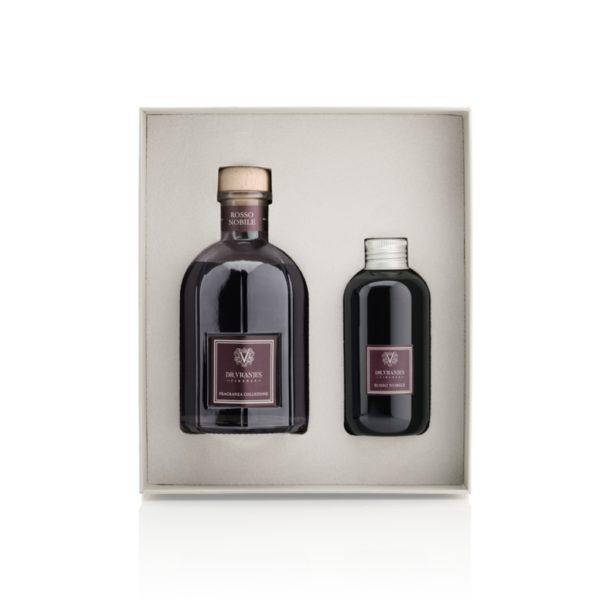 dr vranjes rosso nobile gift box 250ml ricarica 150ml frv17 c16