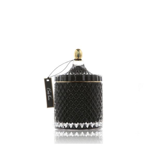 cote noir limited editions candles candela profumata grand black art deco candles GML45008