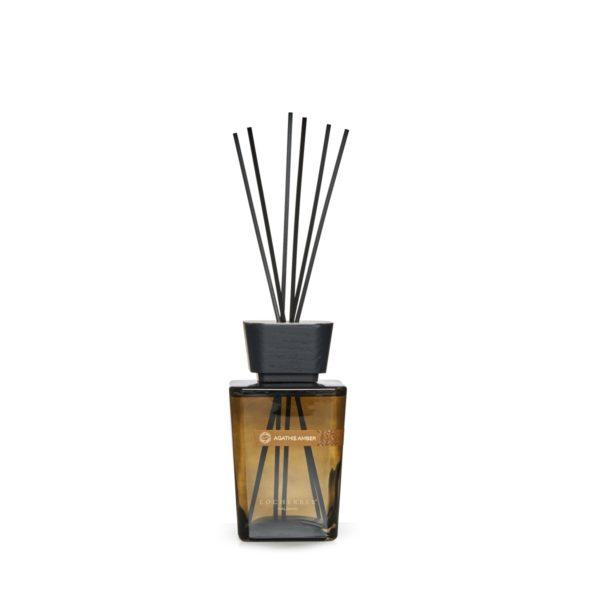 locherber agathis amber diffusore essenza con bacchette 500ml 440905