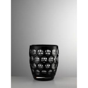 mario luca giusti bicchiere lente basso nero h bik len1
